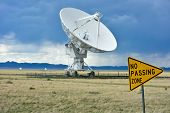 The Karl G. Jansky Very Large Array (VLA) is a radio astronomy observatory located on the Plains of San Agustin in New Mexico. poster