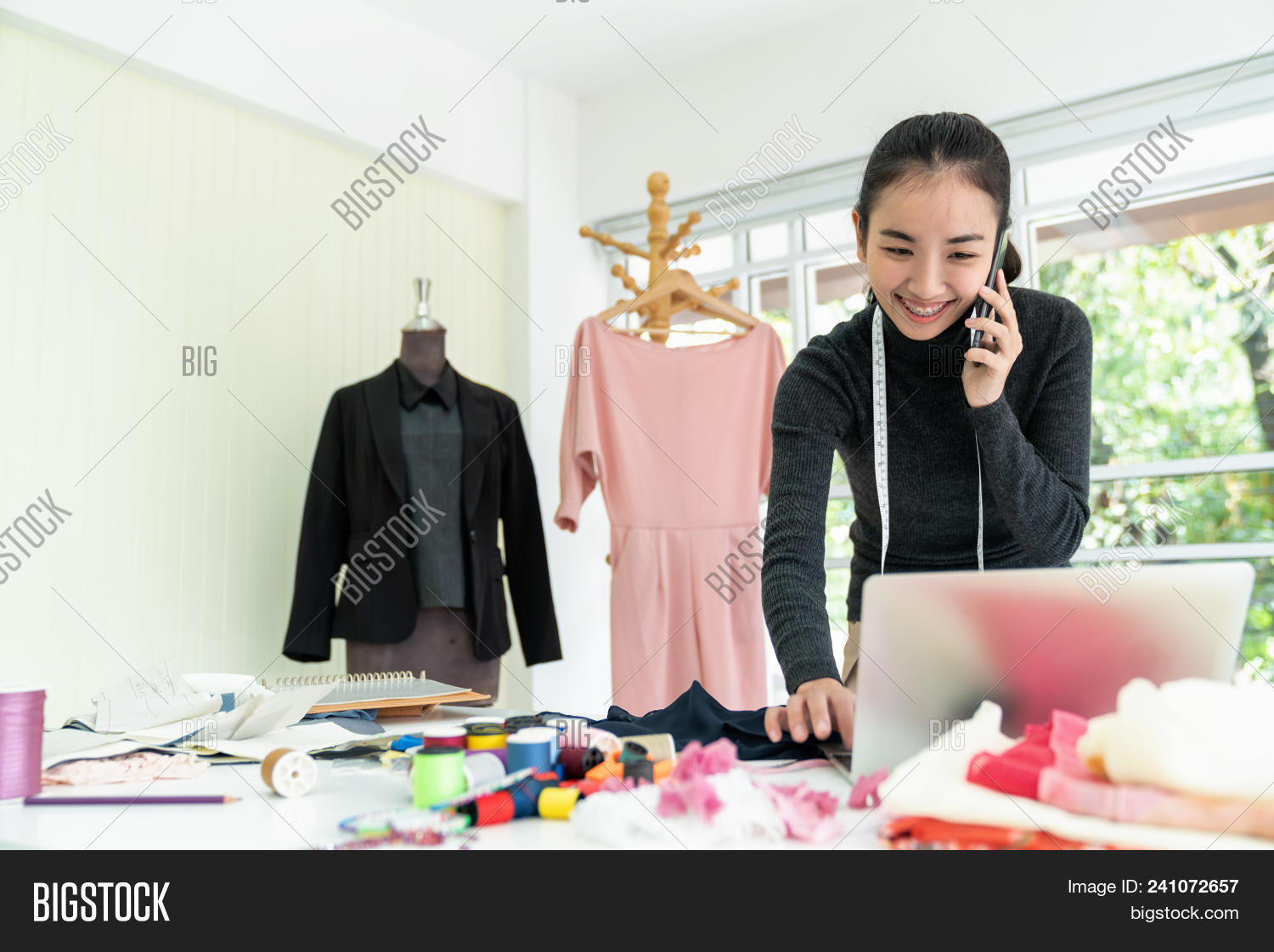Happy Asian Fashion Image Photo Free Trial Bigstock