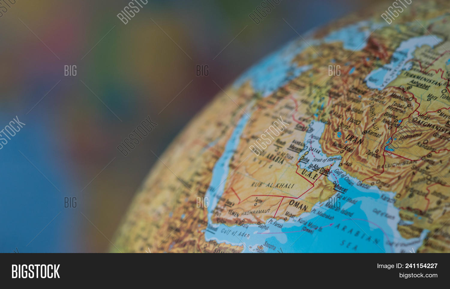 Africa Middle East Map Image & Photo (Free Trial) | Bigstock