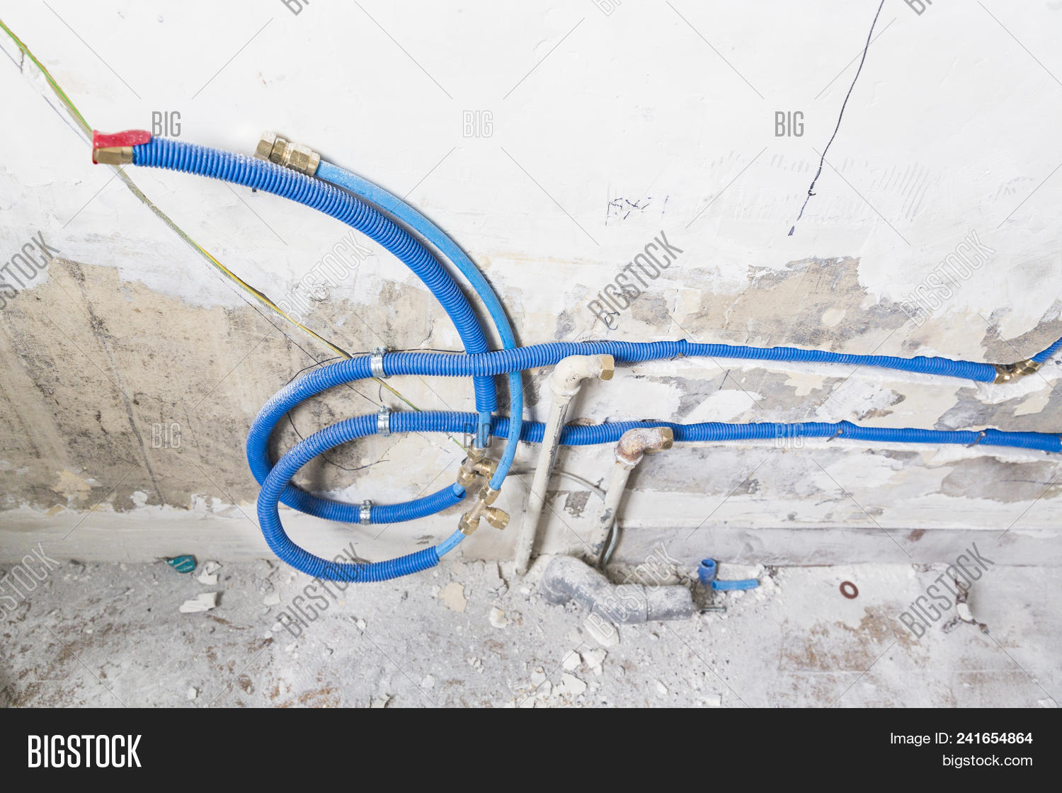 Water Pipes Made Image & Photo (Free Trial)   Bigstock