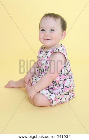 Happy Baby Smiling