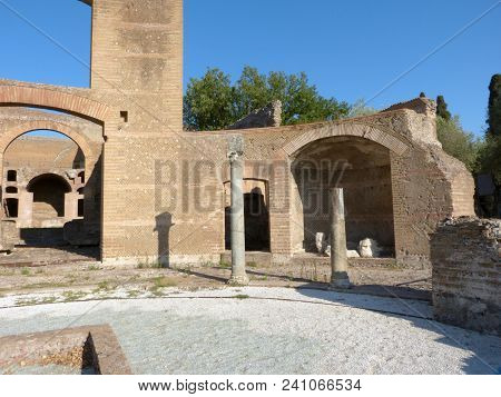 The Ruins And Remains Of An Ancient Roman City Of Lazio - Italy 0155