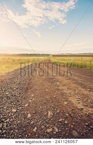 Road Out In The Countryside