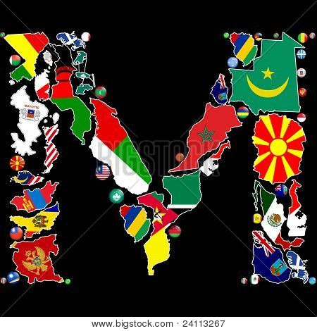 Countries Of M