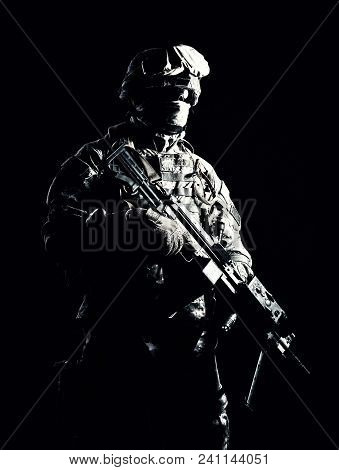 Special Operations Forces Soldier, Counter Terrorism Squad Fighter, Security Service Guard, Marine S
