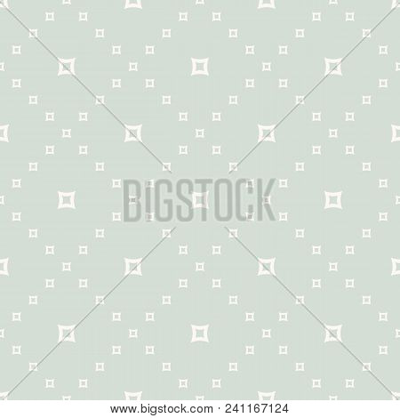 Retro Vintage Vector Geometric Texture. Abstract Seamless Pattern With Small Perforated Squares. Del