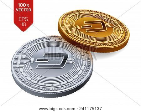 Dash  Crypto Currency Vector & Photo (Free Trial) | Bigstock