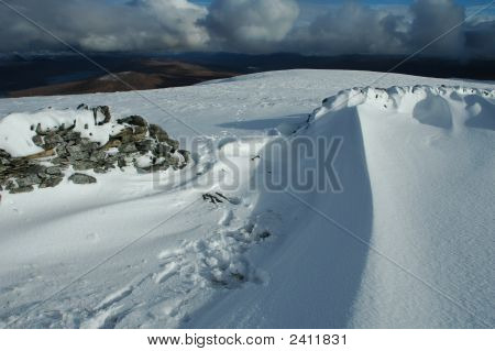 Snow Wave, Scotland