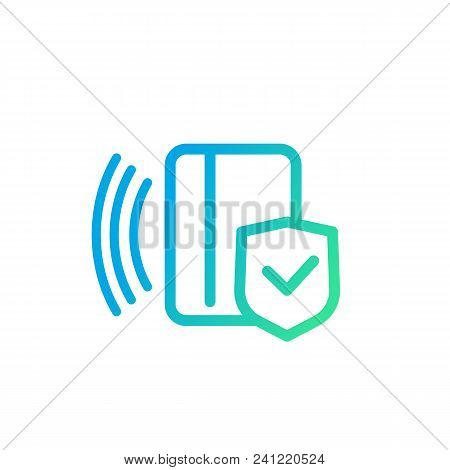 Electronic Pass Icon, Card Key, Eps 10 File, Easy To Edit
