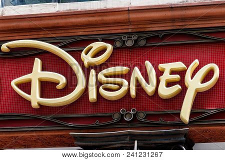 Chicago - Circa May 2018: Disney Store Retail Mall Location. Disney Store Is The Official Site For D