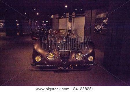 Brown 1937 Delahaye Type 135 Ms Special Roadster
