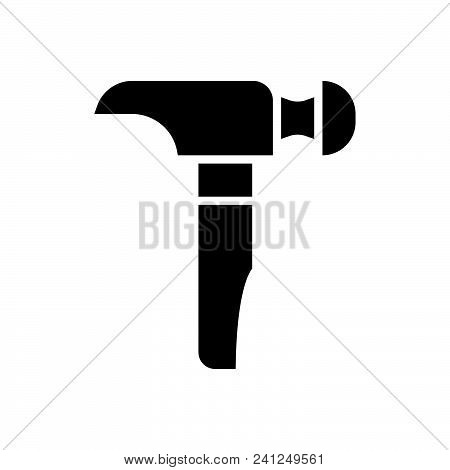 Hammer Vector Icon On White Background. Hammer Modern Icon For Graphic And Web Design. Hammer Icon S