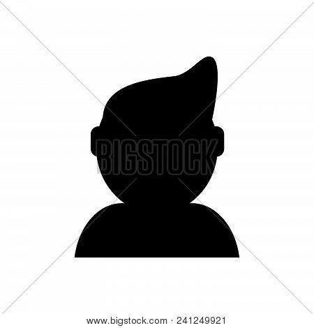 Web Profile Vector Icon On White Background. Web Profile Modern Icon For Graphic And Web Design. Web