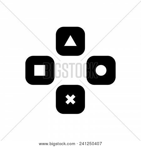 Gaming Vector Icon On White Background. Gaming Modern Icon For Graphic And Web Design. Gaming Icon S