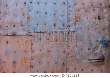 Old Rusted Iron Gate