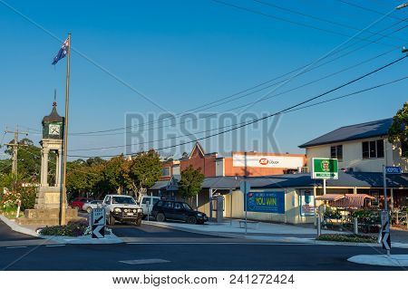 Foster, Australia - January 28, 2018: Foster Is A Dairy And Farming Town In South Gippsland. This Is