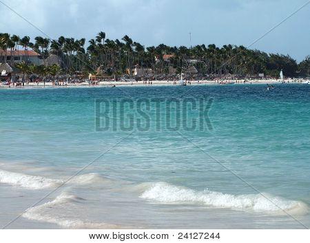 Dominican Republic Coastal Scenery