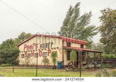 Howick, South Africa - March 23, 2018: Peels Honey, A Well-known Business Next To The N3-road In How
