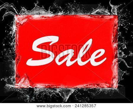 Sale Logo. Sales Discount Voucher. Sale Icon Template