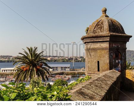 The Watchtower Of San Juan Protects The Port Of Ferrol