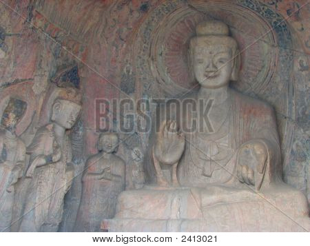 Buddha Granting Wishes
