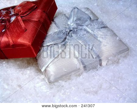 Gifts In Snow