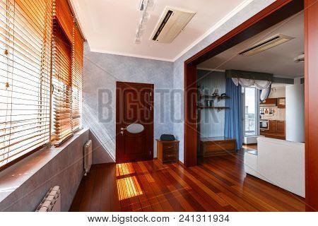 Modern Apartment Apartment, Designer Interior From The Inside. Condominium Concept