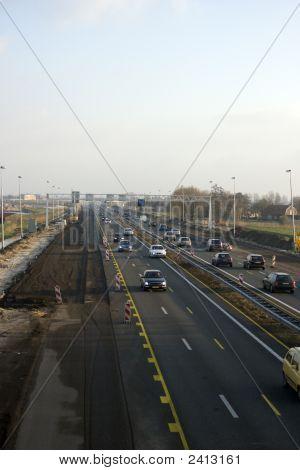 Adding Traffic Lanes To Highway