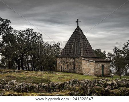 The Third Building Standing In Citanea De Briteiros, The Church