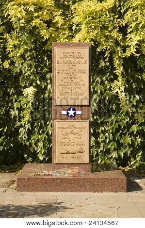 US Airforce Memorial, Suffolk