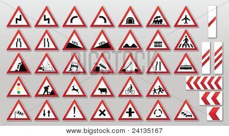 Traffic Signs - Warnings