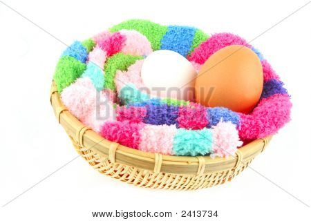 Fluffy Clutch For Two Eggs