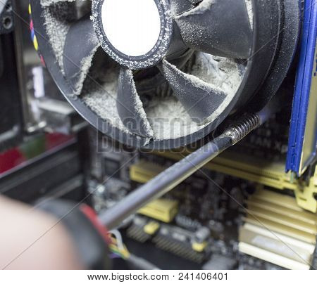 Removing The Cooler From The Processor In The System Unit