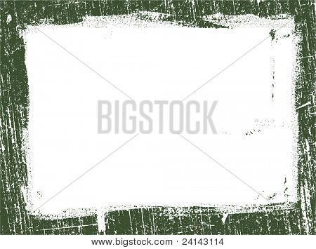 Grunged Border 12 -  Highly Detailed vector grunge graphic.