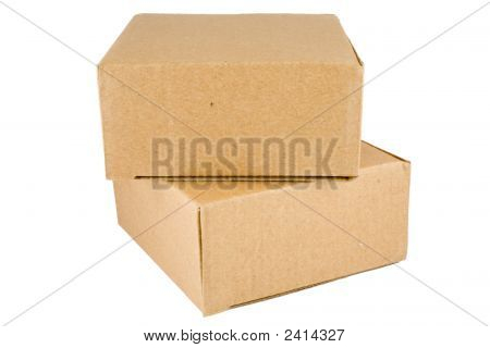 Stacked Cardboard Box