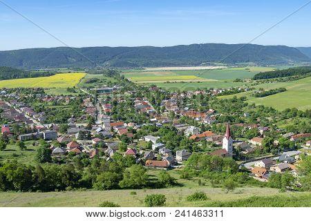 Krasnohorske Podhradie - Small Village In Slovakia Near Krasna Horka Castle