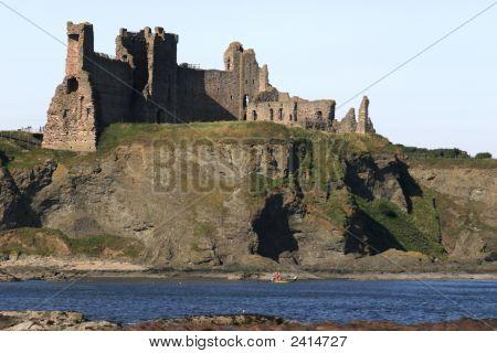 Tantallon Castle And Cliff, Scotland