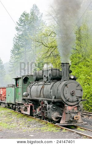 narrow gauge railway, Banovici, Bosnia and Hercegovina