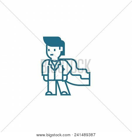 Professional Skills Line Icon, Vector Illustration. Professional Skills Linear Concept Sign.