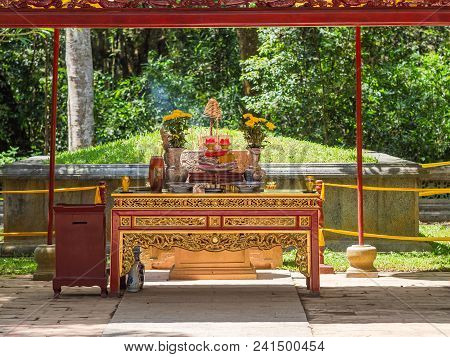 The Le Thai To Mausoleum At Lam Kinh Temple In Xuan Lam And Lam Son Townlet Of Tho Xuan District, Th