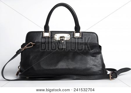 4634203 Woman's Bag Isolated Dropping Shadow On White Surface