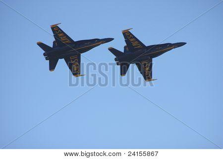 Us Navy Blue Angel F/A-18's