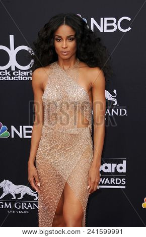 Ciara at the 2018 Billboard Music Awards held at the MGM Grand Garden Arena in Las Vegas, USA on May 20, 2018.