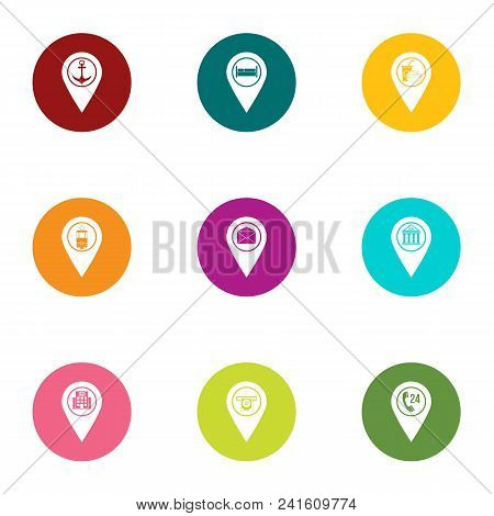 Browsing Icons Set. Flat Set Of 9 Browsing Vector Icons For Web Isolated On White Background