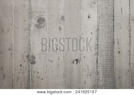 Exposed wooden formwork concrete, Modern concrete texture wall, Contemporary architectural grey concrete wall poster