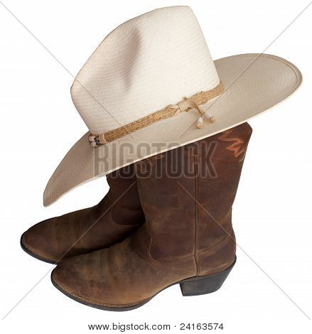 Cowboy Hat N Boots