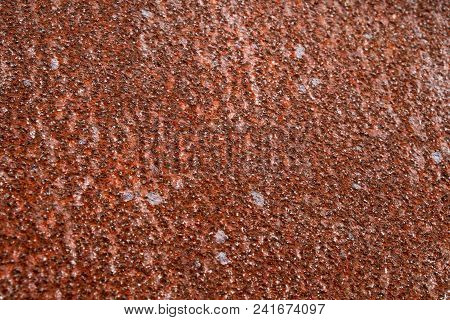 Heavily Rusted Metal With A Dapple Texture