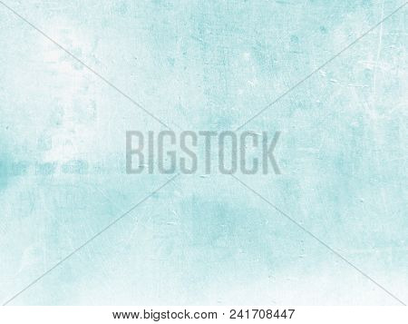 Soft blue green watercolor background
