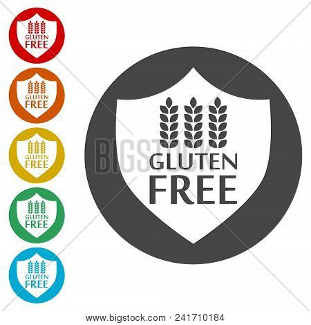 Gluten Free Sign Icon Vector & Photo (Free Trial) | Bigstock
