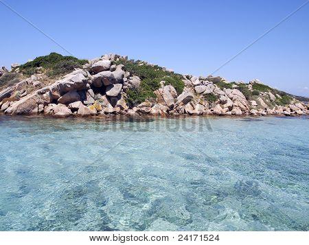Landscape Of Emerald Coast, Sardinia, Italy